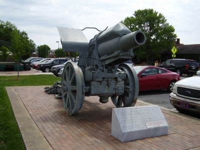 210MM German Howitzer Marker Photo, Click for full size