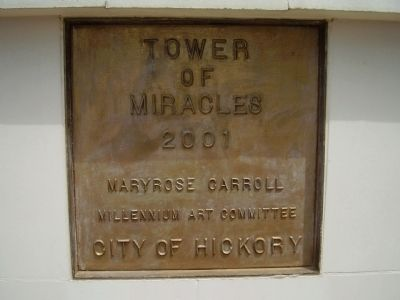 Tower of Miracles Marker image. Click for full size.