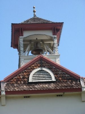 City Hall Bell Tower and Bell Photo, Click for full size
