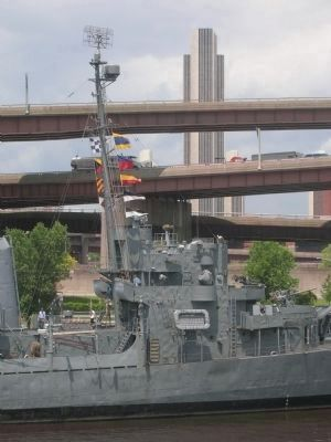 U.S.S. Slater in Albany, NY image. Click for full size.
