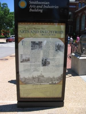 Arts and Industries Building Marker Photo, Click for full size