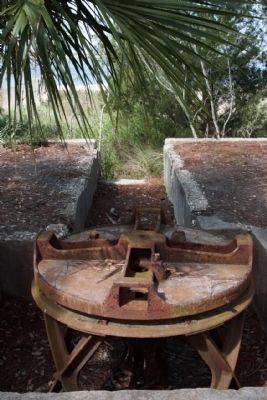 The Capstan Winch As Mentioned , viewed on the Marker, Seen Today image. Click for full size.