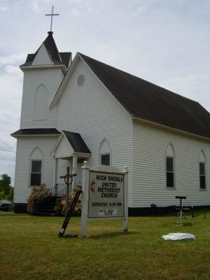 High Shoals United Methodist Church image. Click for full size.