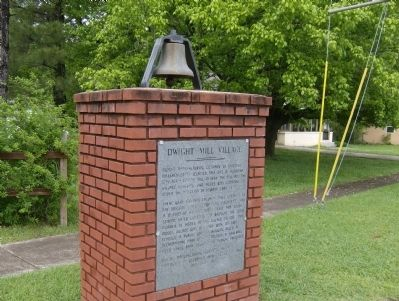 Dwight Mill Village Marker Photo, Click for full size