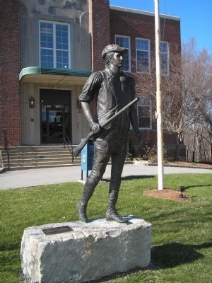 Minuteman Monument in Northborough Photo, Click for full size