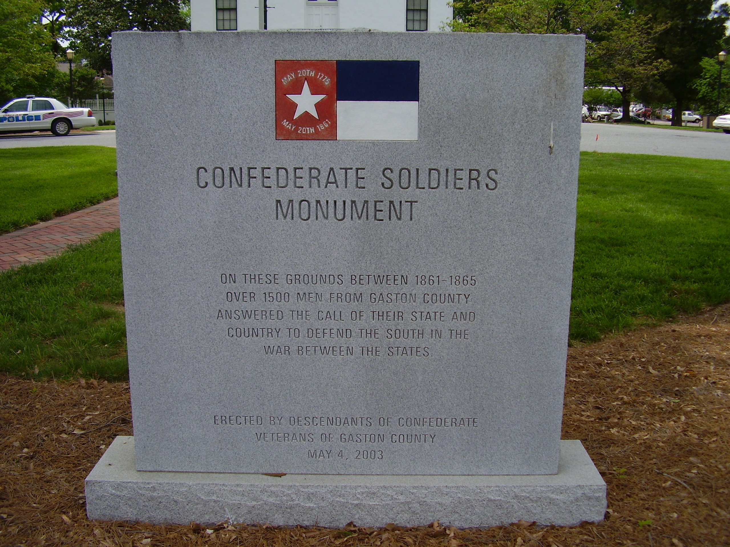 Confederate Soldiers Marker
