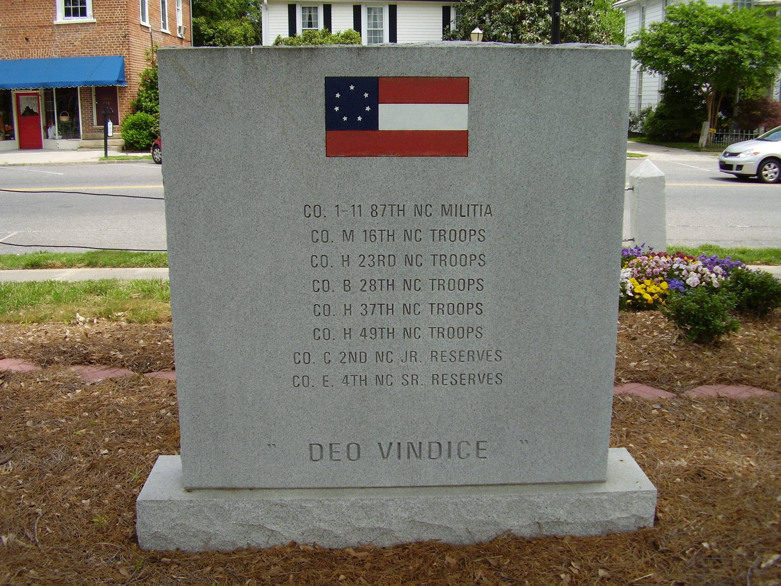 Back of Monument