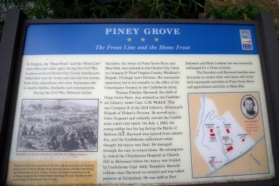 Piney Grove CWT Marker image. Click for full size.