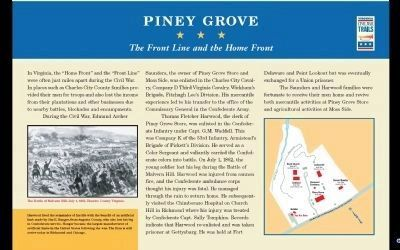 Piney Grove Marker PDF. image. Click for full size.
