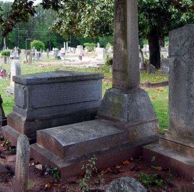 Gen. Samuel McGowan Crypt - North Side<br>Long Cane Cemetery, Abbeville, SC Photo, Click for full size