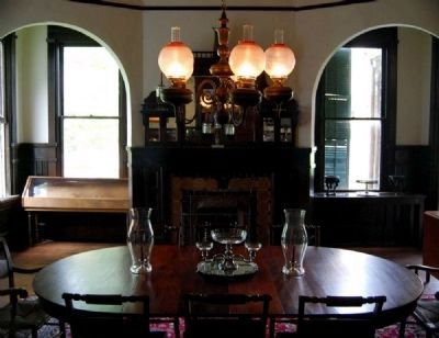 The Kathryn and William McGowan Matthew Dining Room Photo, Click for full size