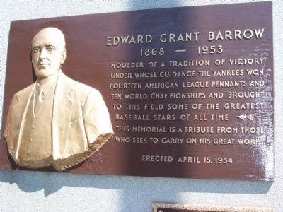 Edward Grant Barrow Marker image. Click for full size.