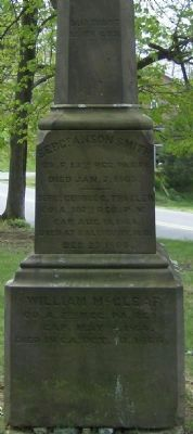 Our Fallen Patriots Marker (West Face) Photo, Click for full size