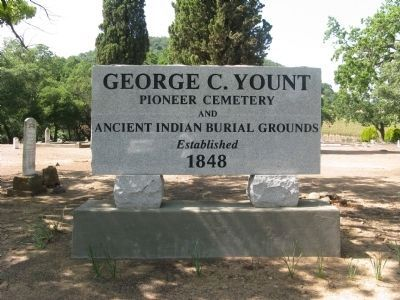 George C. Yount Pioneer Cemetery Photo, Click for full size
