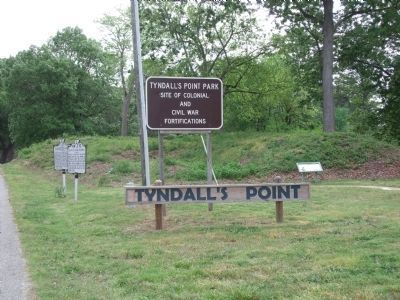 Tyndall's Point Park. image. Click for full size.