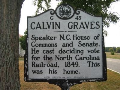 Calvin Graves (1804-1877) image. Click for full size.