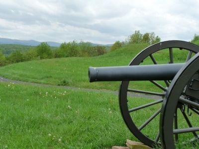 Cannon at Fort Mulligan Photo, Click for full size