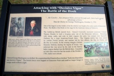 "Attacking with ""Decisive Vigor"" Marker Photo, Click for full size"