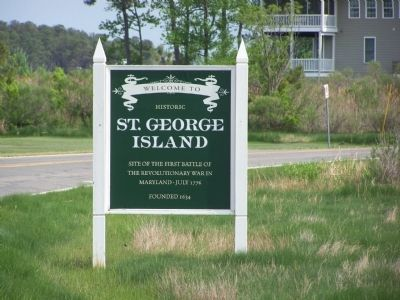 Welcome to Historic St. George Island image. Click for full size.