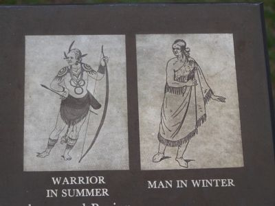 Warrior in Summer - Man in Winter image. Click for full size.