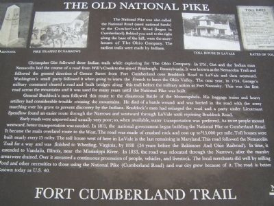 The Old National Pike Marker image. Click for full size.