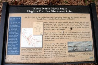 Where North Meets South Marker image. Click for full size.