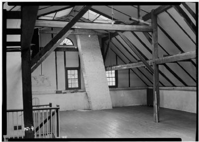 Interior of Attic, Westervelt House image. Click for full size.