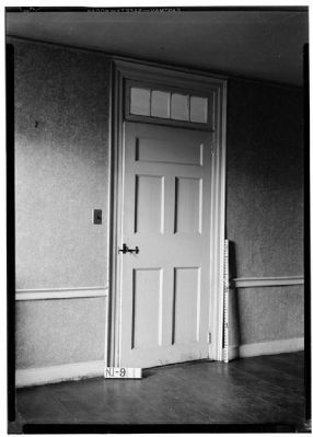 Dining Room Door, Westervelt House image. Click for full size.