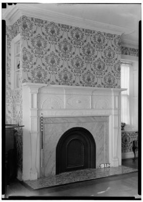 Living room detail, De Mott – Westervelt House image. Click for full size.