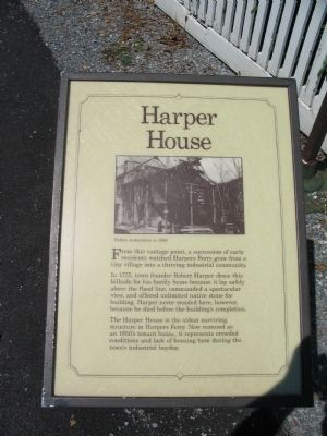 Harper House Marker image. Click for full size.