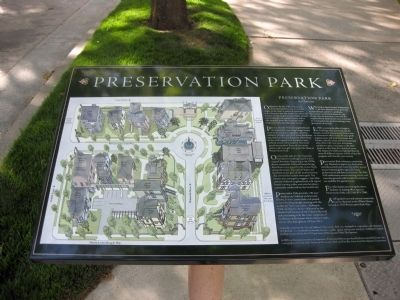 Preservation Park Marker Photo, Click for full size