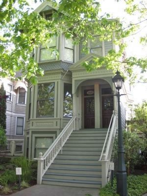 Aaron Jacobs House (Constructed 1892-93) Photo, Click for full size