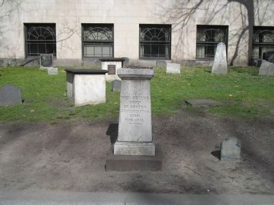 Grave of Paul Revere Photo, Click for full size