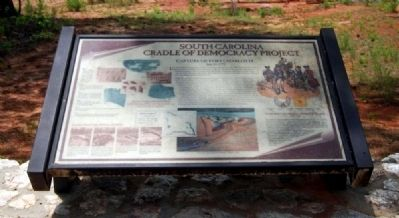 Capture of Fort Charlotte Marker image. Click for full size.