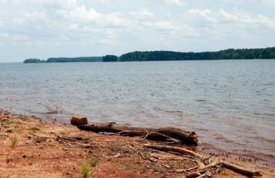 Waters of Lake Thurmond -<br>Georgia Coastline in the Distance image. Click for full size.