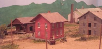 Schoharie Valley Depot in HO Scale image. Click for full size.