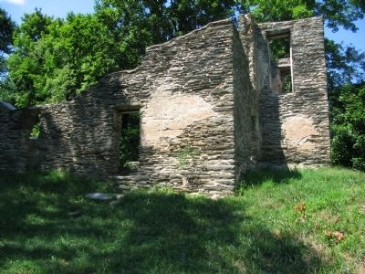 St. John's Episcopal Church Ruins image. Click for full size.