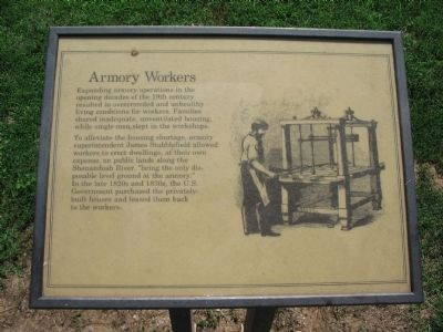 Armory Workers Marker image. Click for full size.