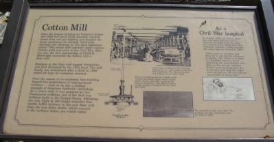 Cotton Mill Marker image. Click for full size.