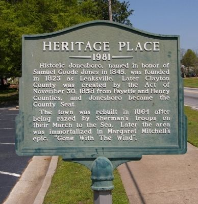 Heritage Place Marker image. Click for full size.