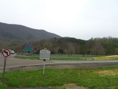 Cartmill's Gap Marker image. Click for full size.