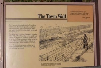 Frederica , Town Wall Photo, Click for full size