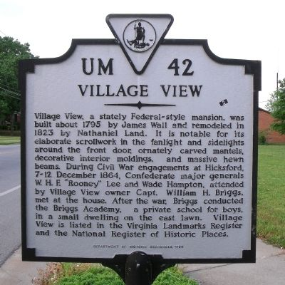Village View Marker image. Click for full size.