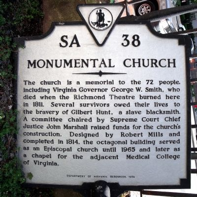 Monumental Church Marker image. Click for full size.