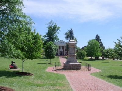 Amelia County Court House Lawn Photo, Click for full size