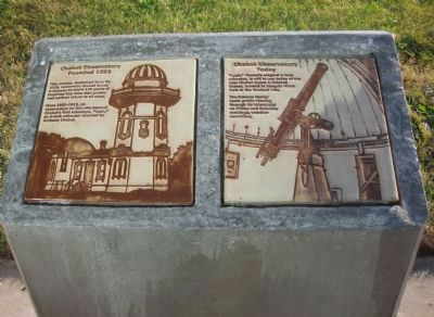 Chabot Observatory Marker image. Click for full size.