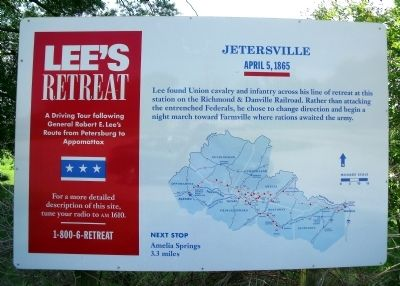 Lee's Retreat Marker Photo, Click for full size