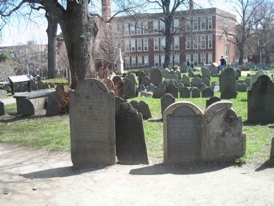 Some Graves in Copp�s Hill Burying Ground Photo, Click for full size