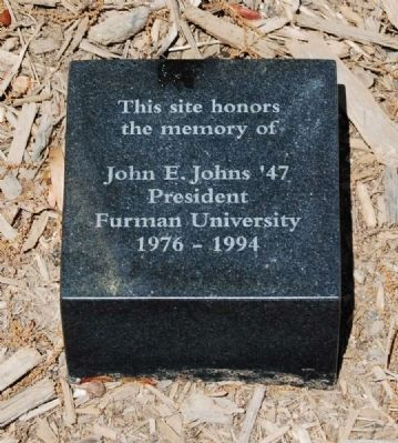 John E. Jones '47 Marker Photo, Click for full size