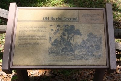 Frederica - Old Burial Ground Marker image. Click for full size.